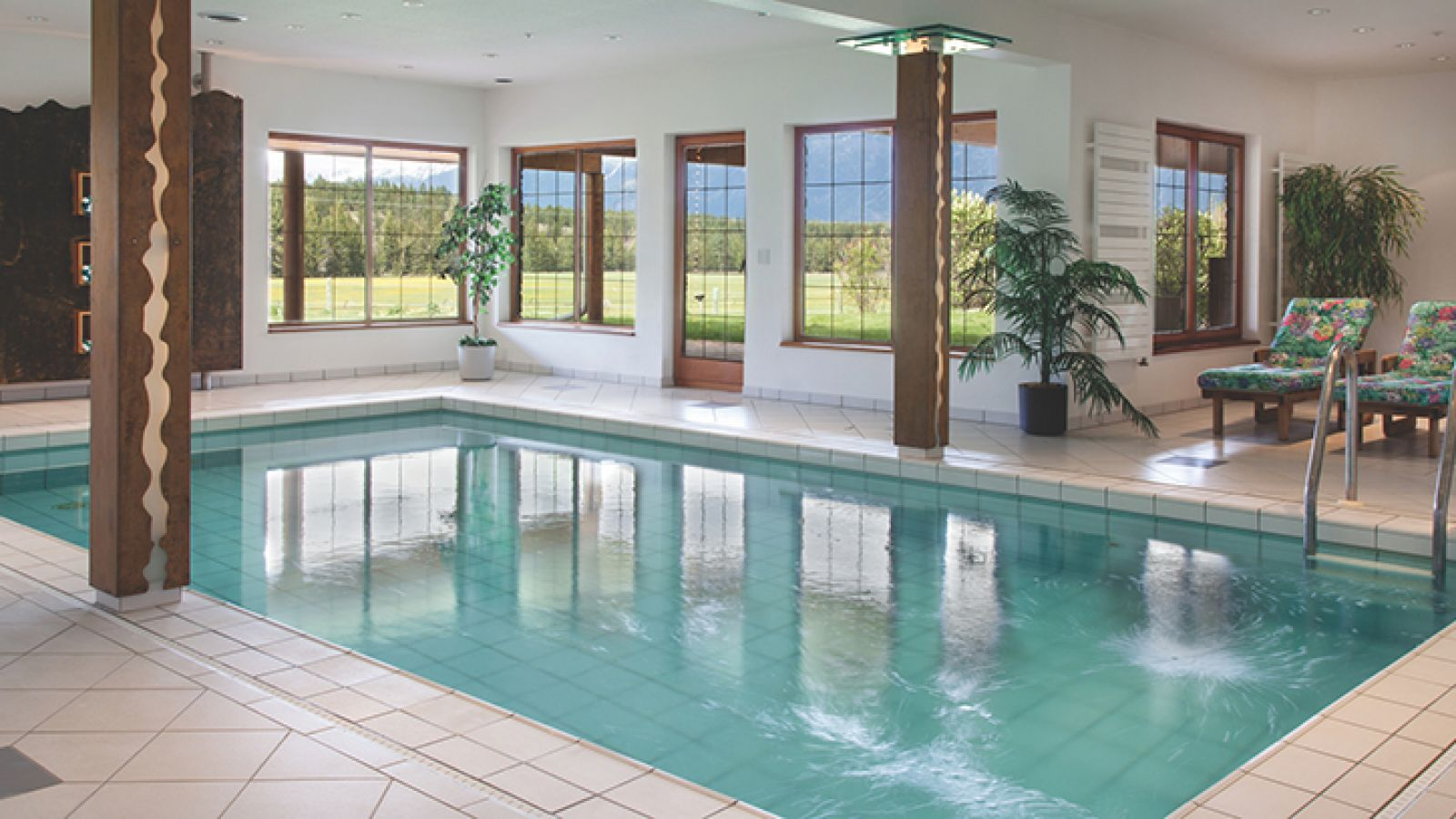 Cherry Creek Estate indoor pool.