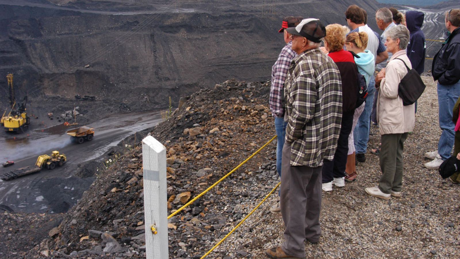 Join an interesting open pit mine tour.