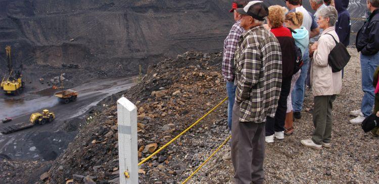 Open Pit Mine Tours & Terex Titan