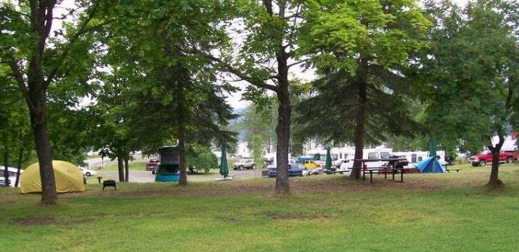 Kaslo Municipal Campground
