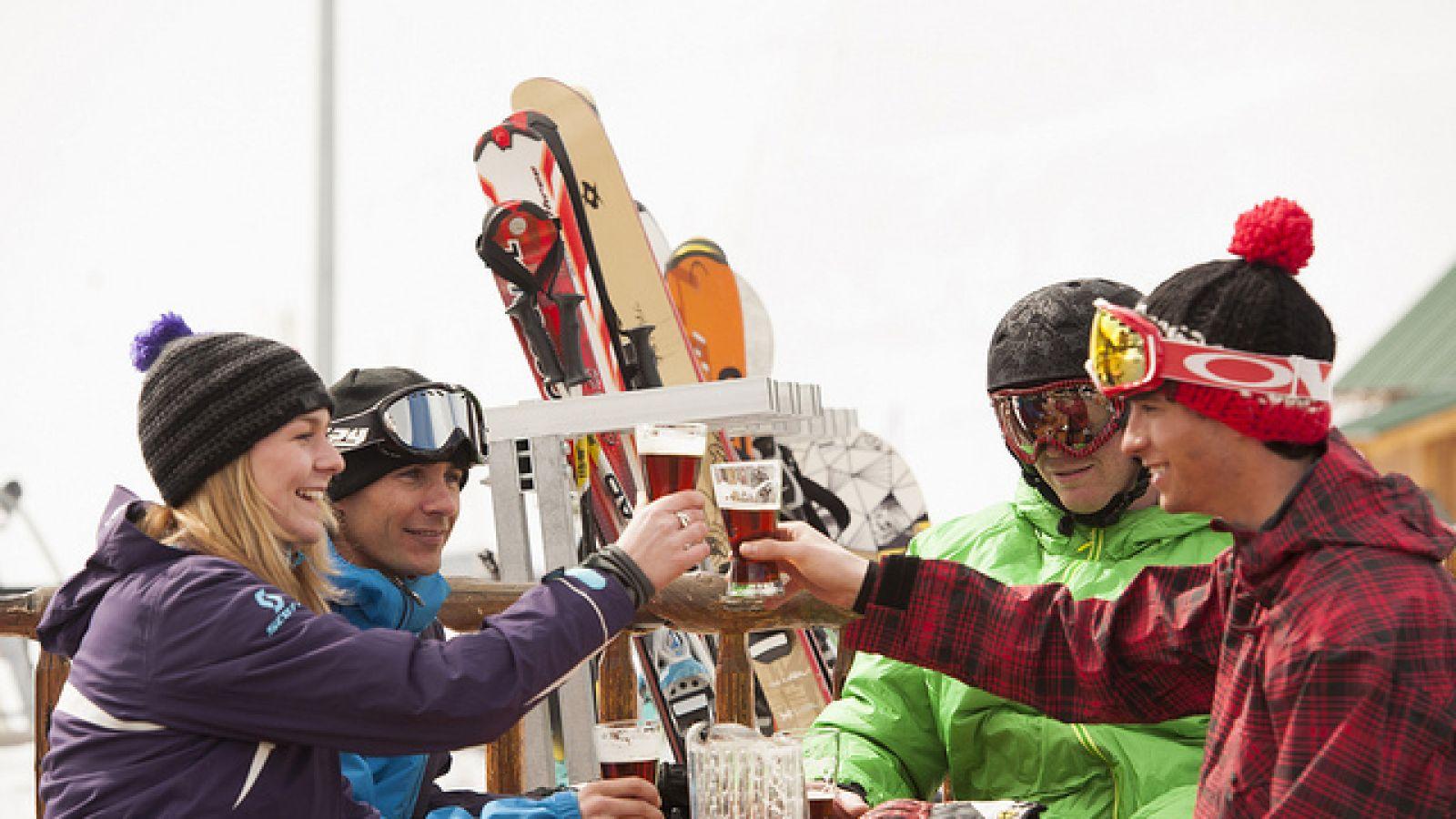Apres ski fun.
