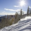 Great snow conditions and plenty of sunshine.