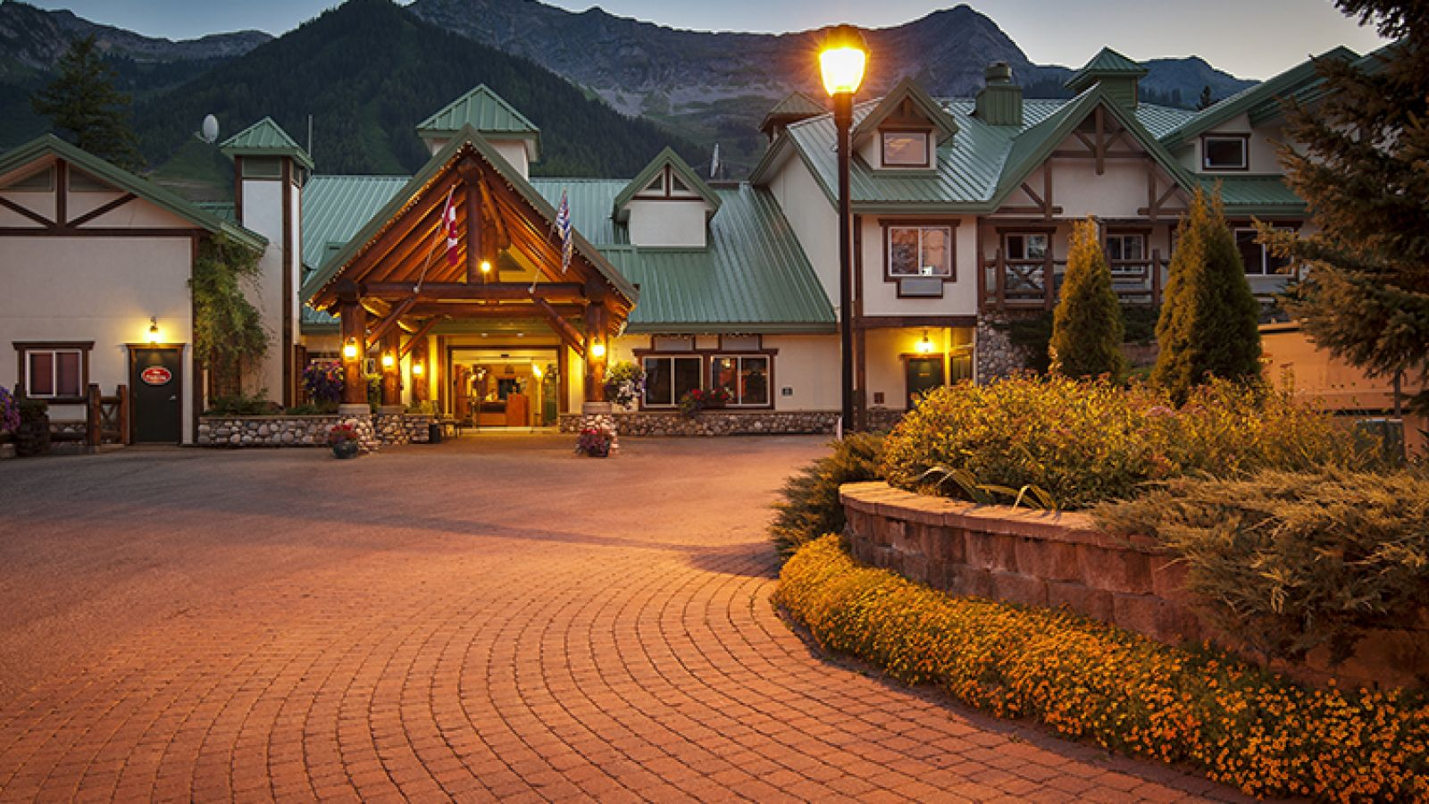 A beautiful property at the Fernie Alpine Resort.