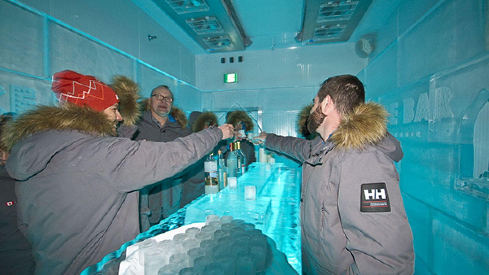 Ice Bar.