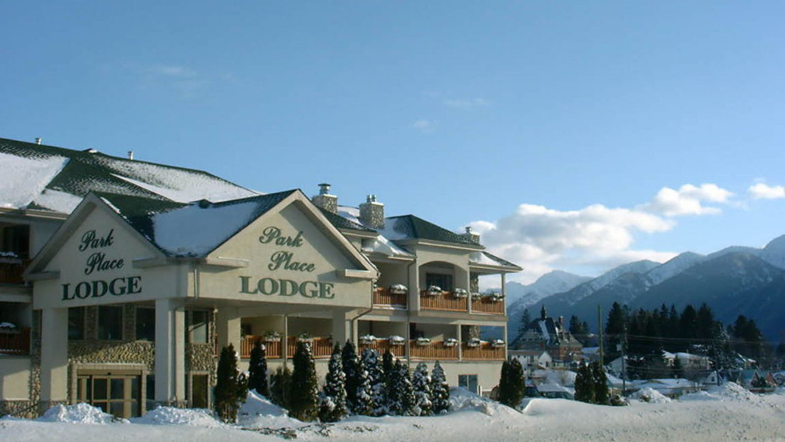 Welcome to the Park Place Lodge.