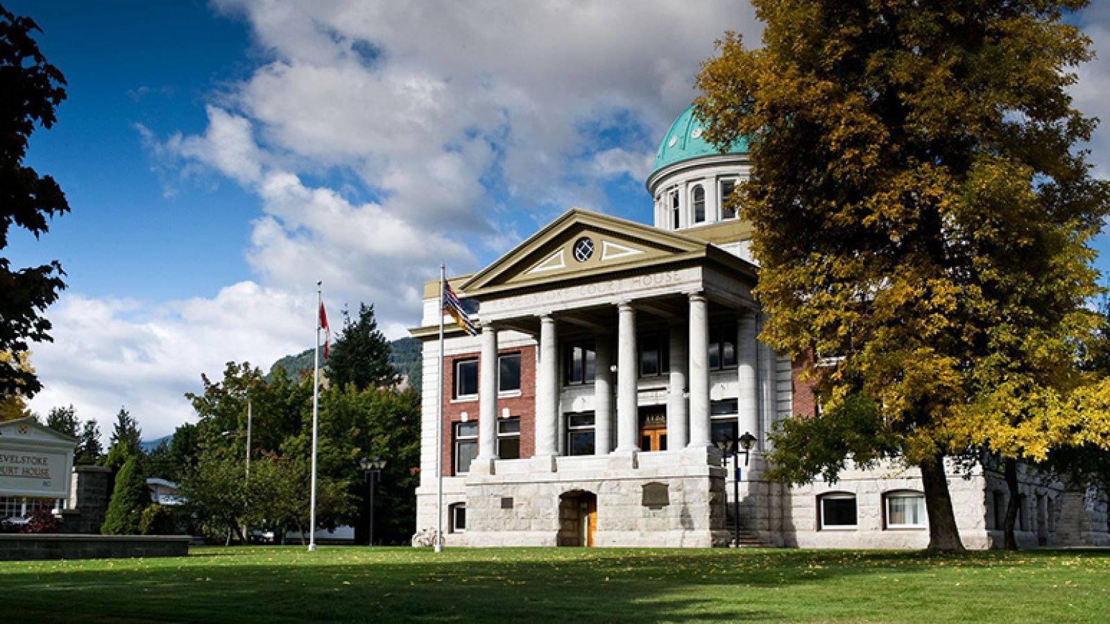 The Court House Heritage Building in Revelstoke.