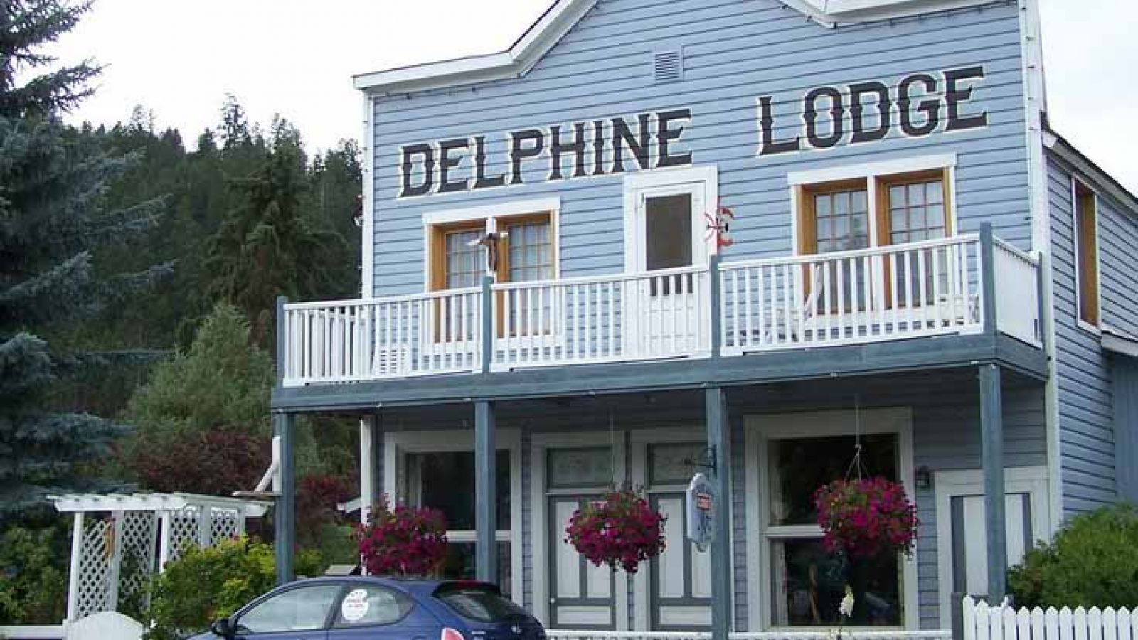 The Delphine Lodge Heritage Building in Wilmer.