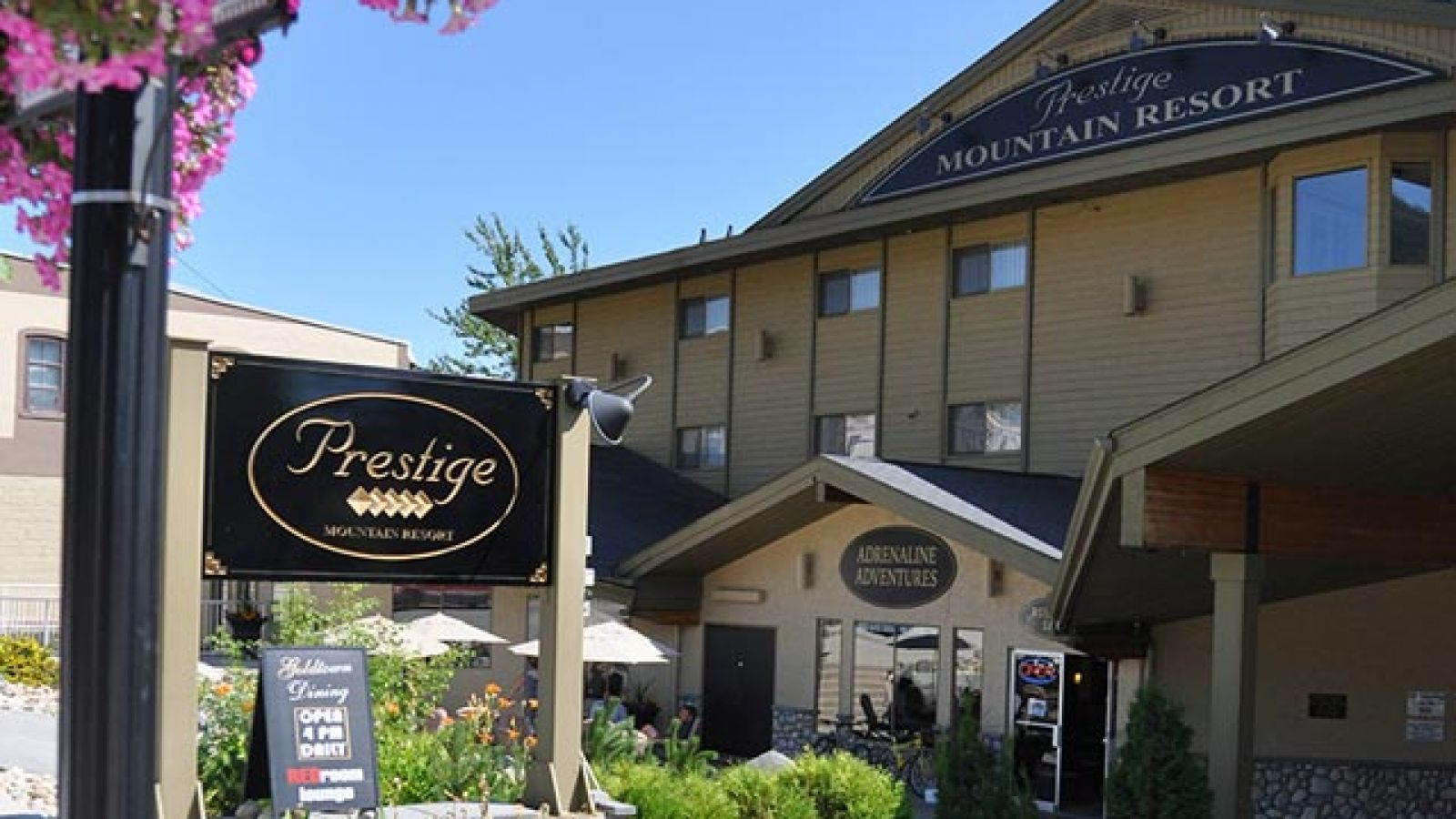 Prestige Mountain Resort - downtown Rossland.