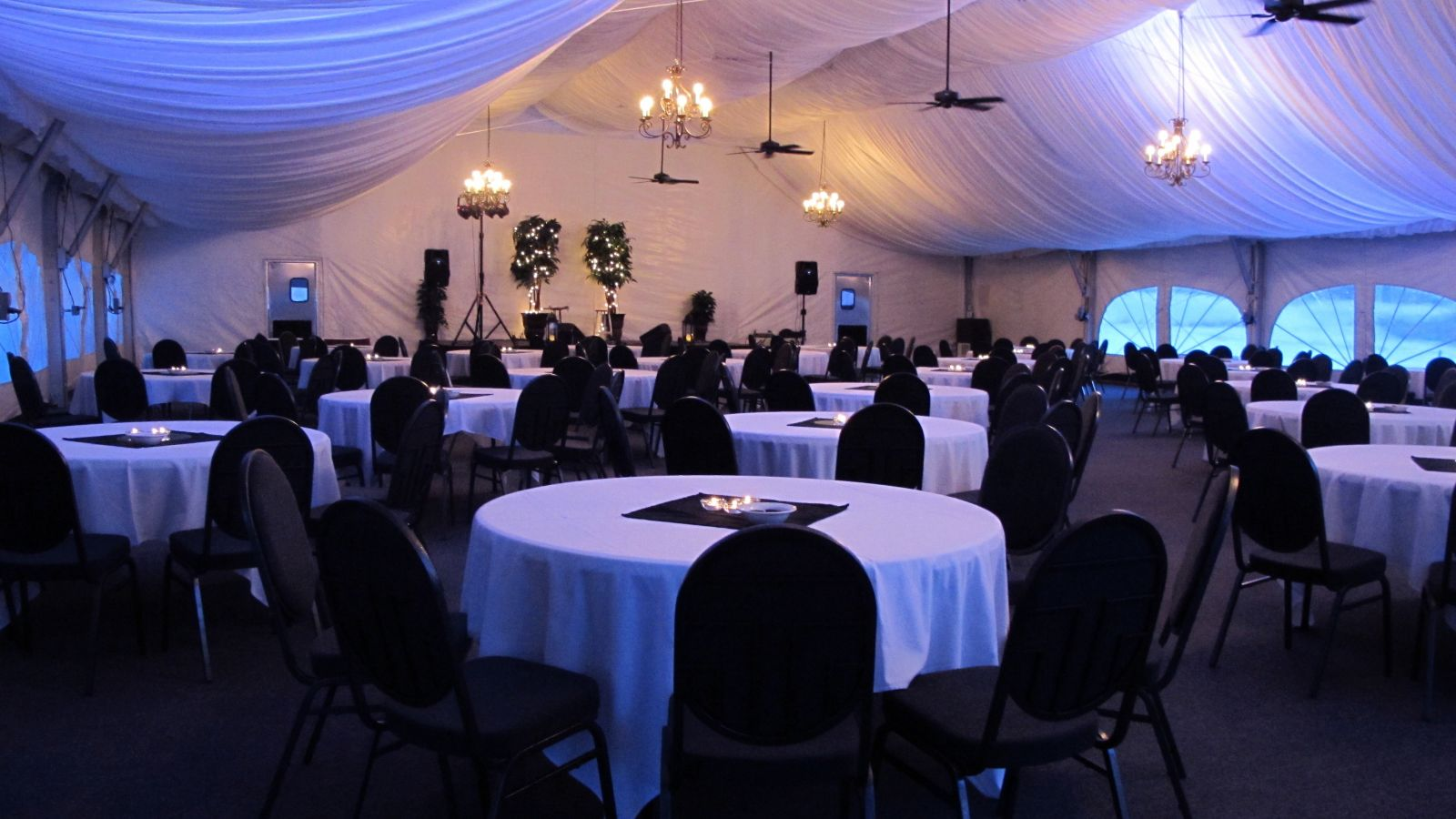 The pavillion is available for large gatherings.