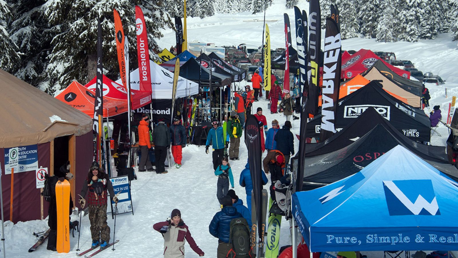 Kootenay Coldsmoke PowderFest - every February.
