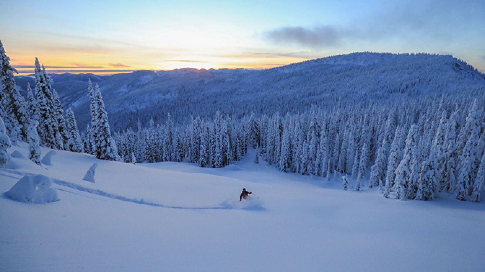 Whitewater receives 40 feet of snow each year.