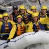 Rafting on the Kicking Horse River.