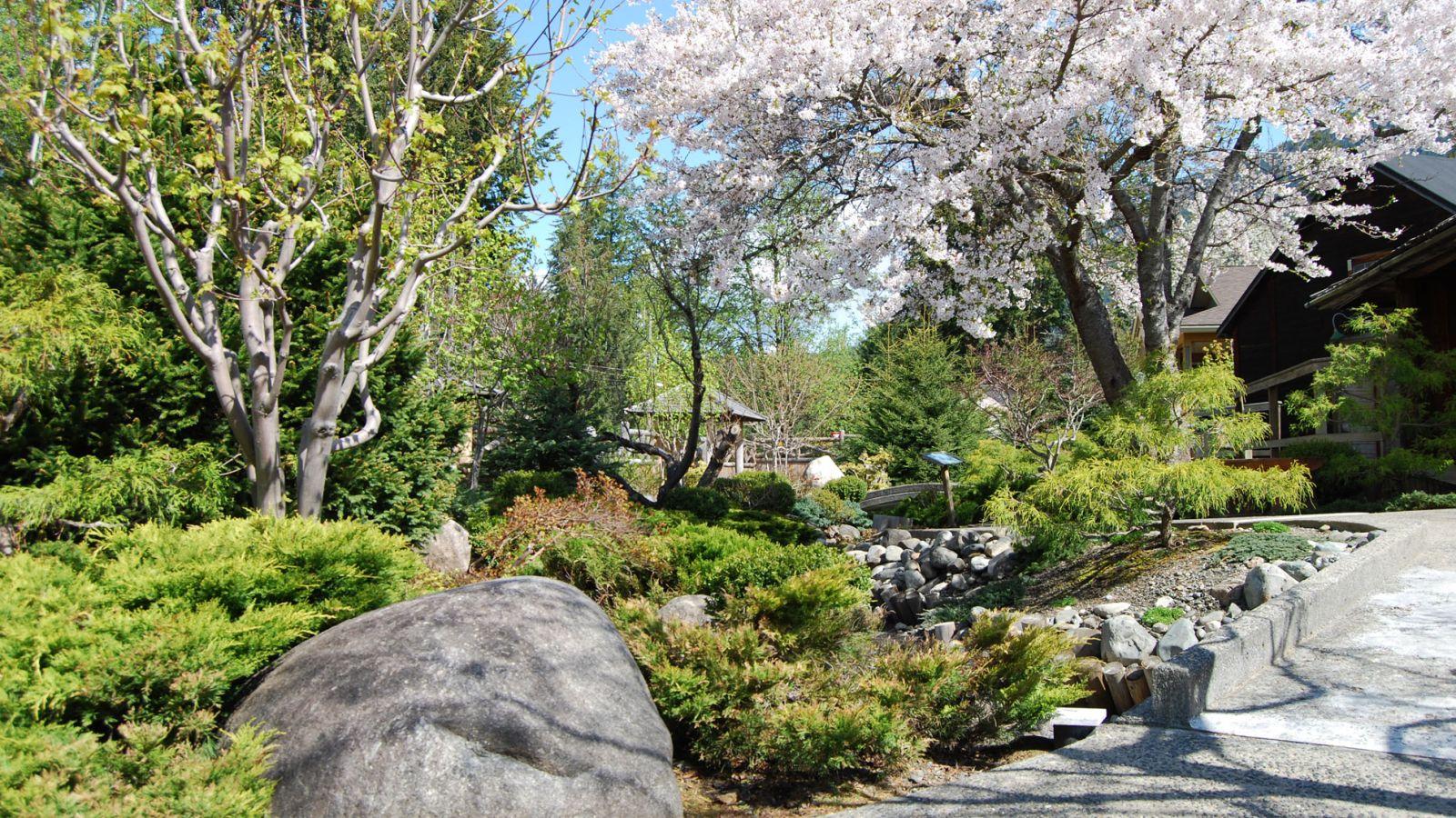 A beautiful commemorative garden.