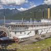 The SS Moyie sternwheeler.