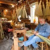 Artisan broom maker.