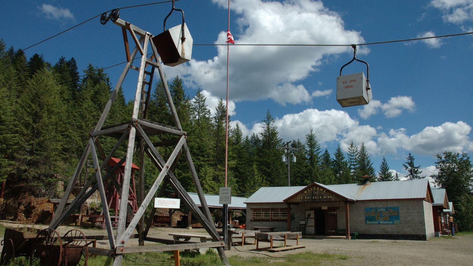 LeRoi Mine Site.