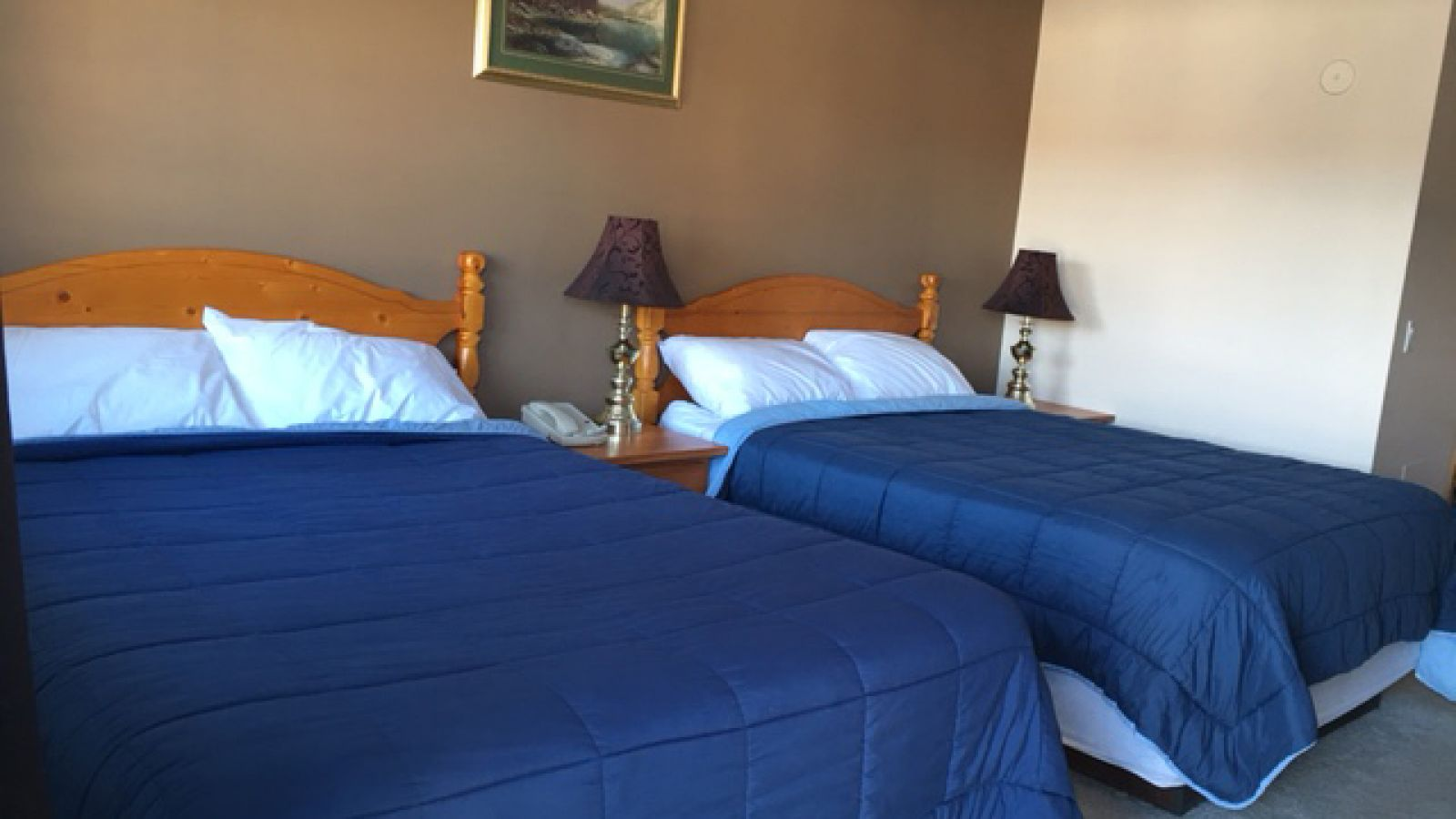A variety of room types are offered.