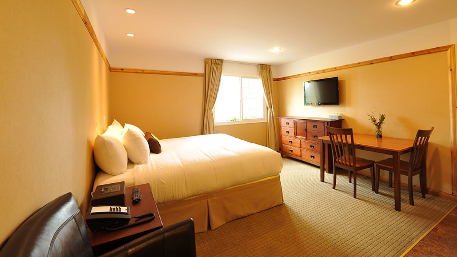 Rooms are clean, comfortable and modern.
