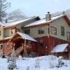 Copper Horse Lodge in the winter.