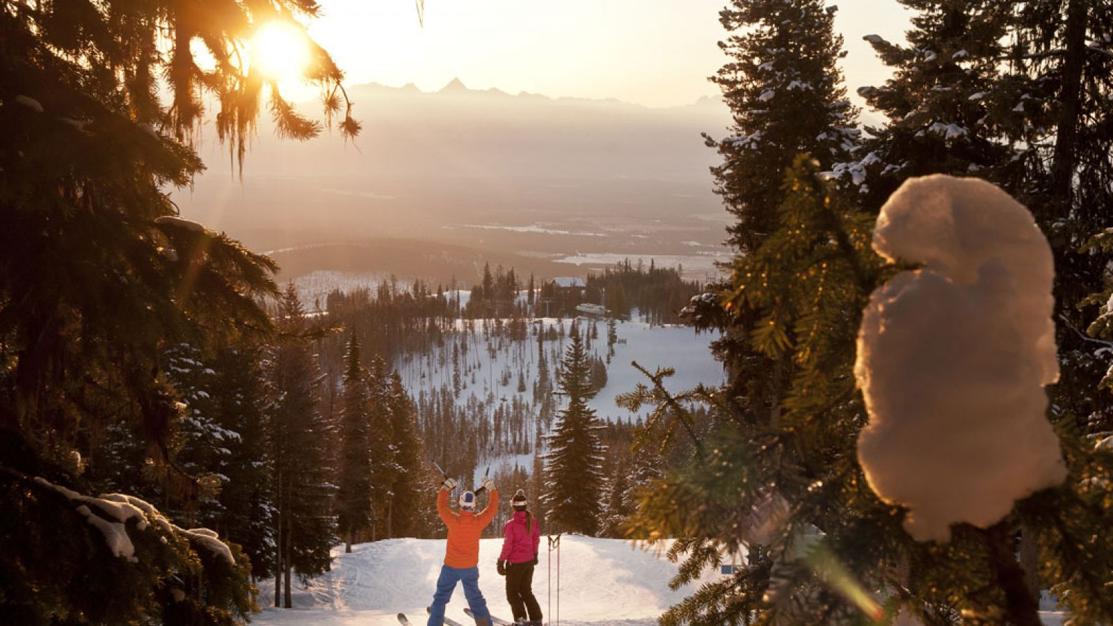 Mountain Spirit Resort is a ski-in ski-out property.