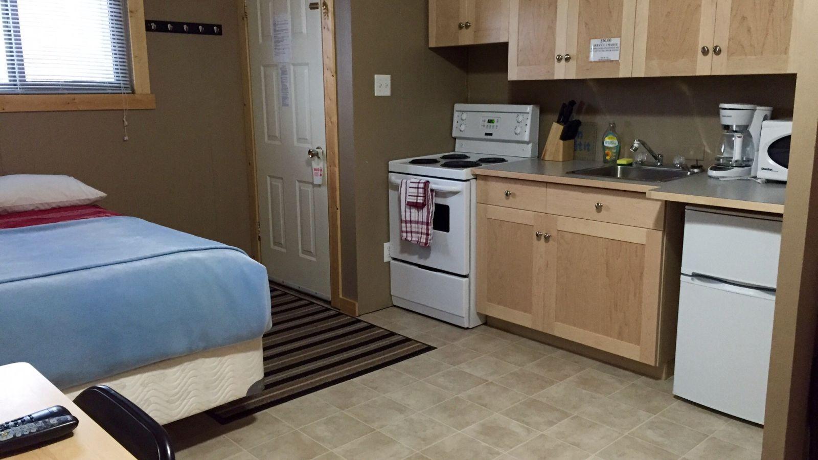 Rossland Motel Kitchen