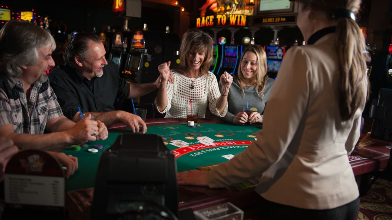 Stay and play at the Casino of the Rockies.