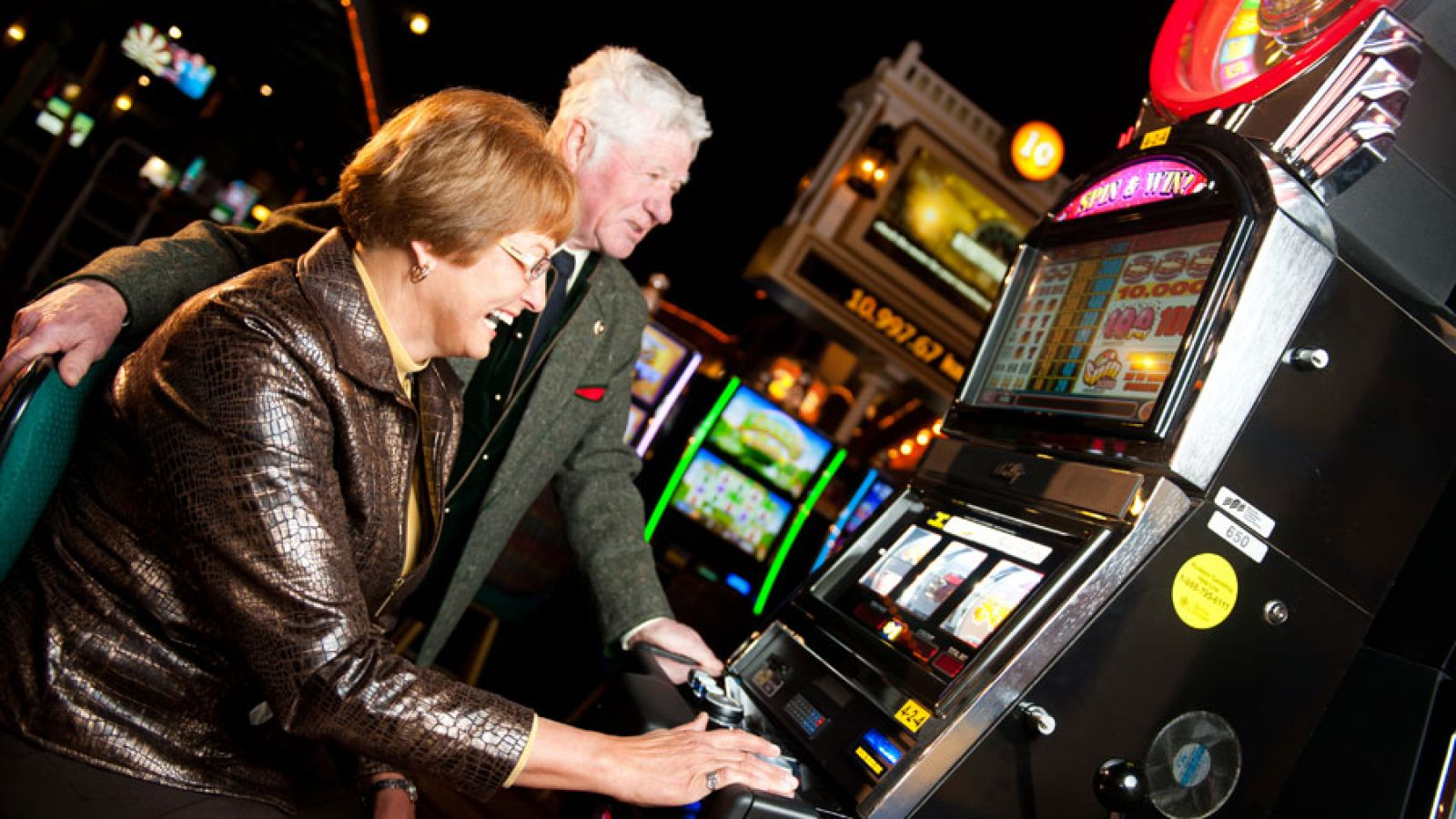 The property offers 239 slot machines.