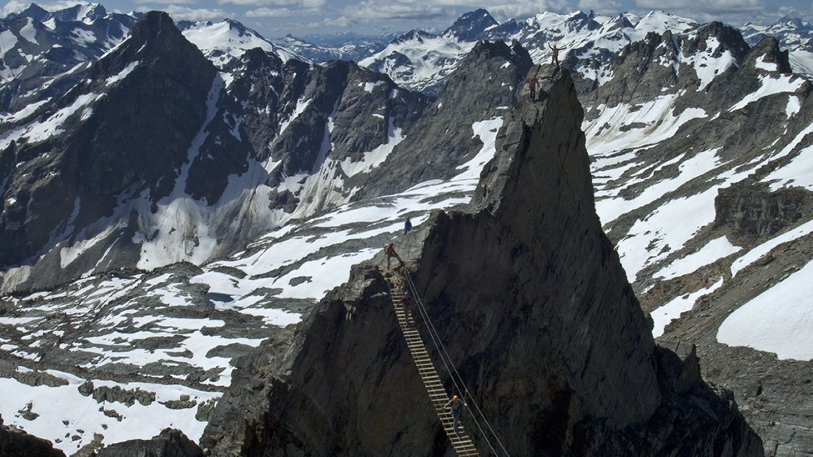 The Via Ferrata; Gery Unterasinger photo.