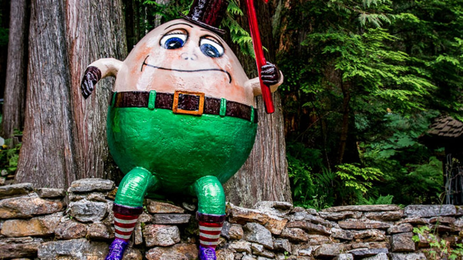 Humpty Dumpty welcomes you.