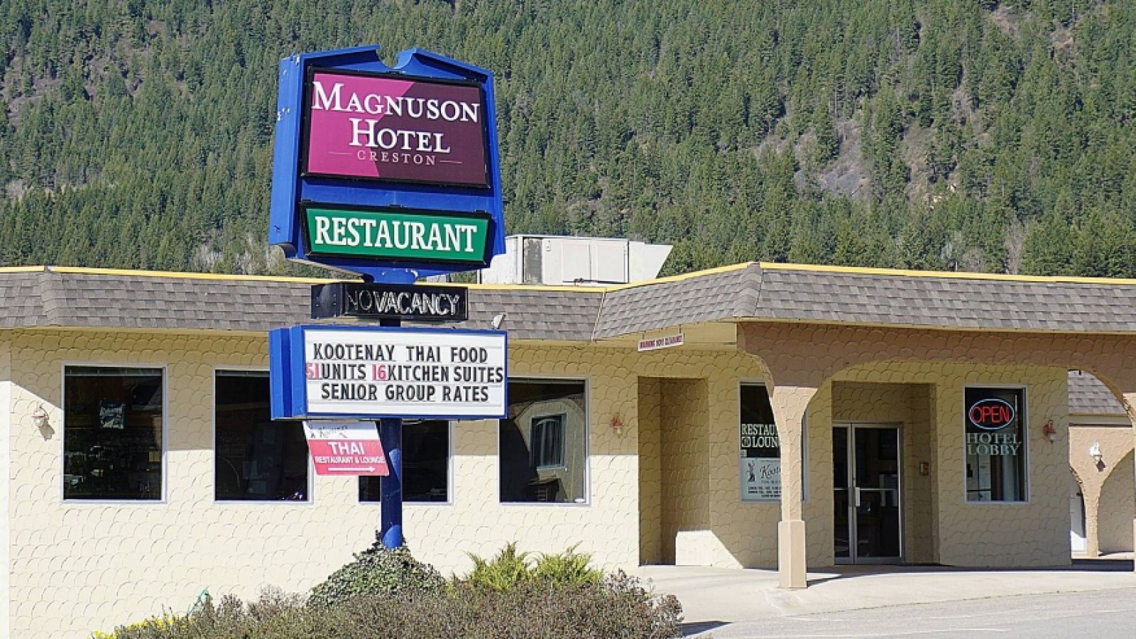 Welcome to the Magnuson Hotel & Restaurant