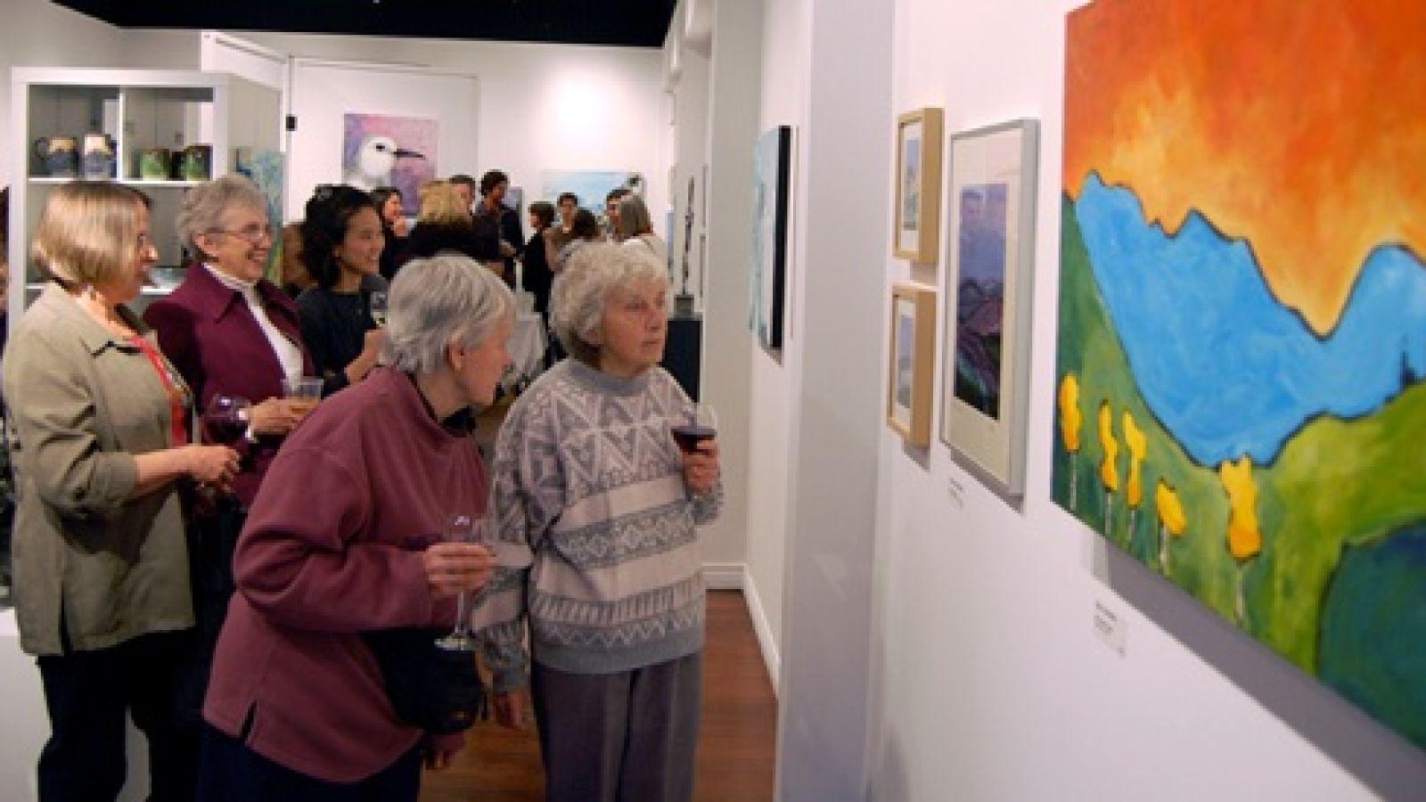 Many wonderful art showings.