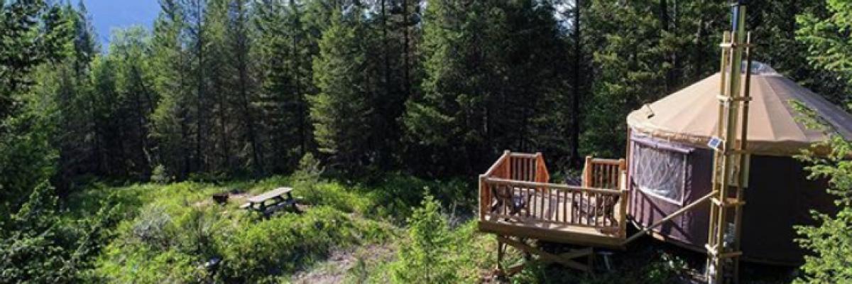 Renew Yurtself: Wilderness Wellness with Radius Retreat