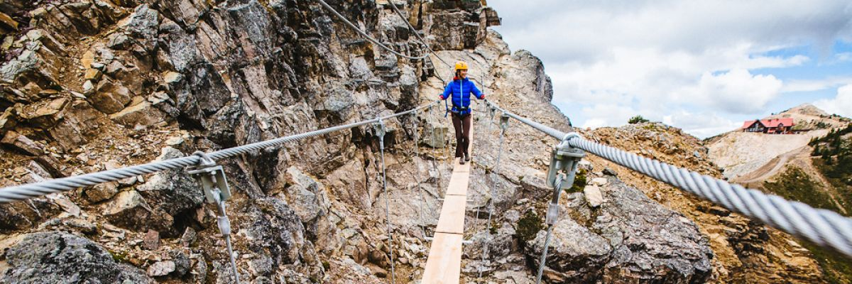 Scaling Kootenay Heights: Rope Courses, Via Ferratas & Ziplines