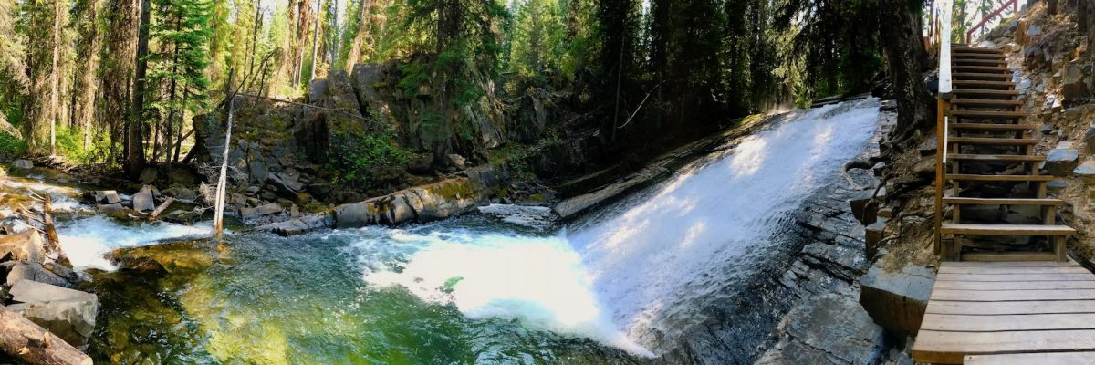 Hidden Waterfalls in the Kootenays