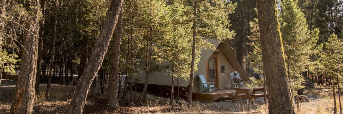 Glamping in the Kootenays
