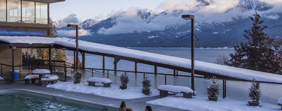 The Kootenay Rockies features 5 wonderful year-round hot springs.