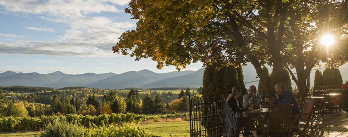 The Kootenay Rockies features 5 wineries.